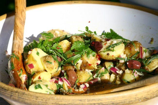 freezer friendly potato salad
