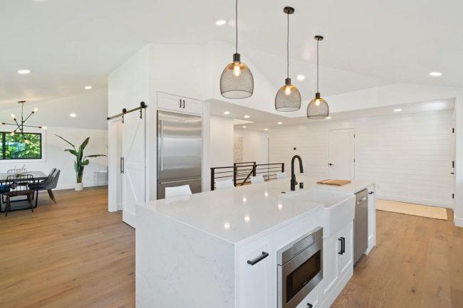 clean kitchen floor