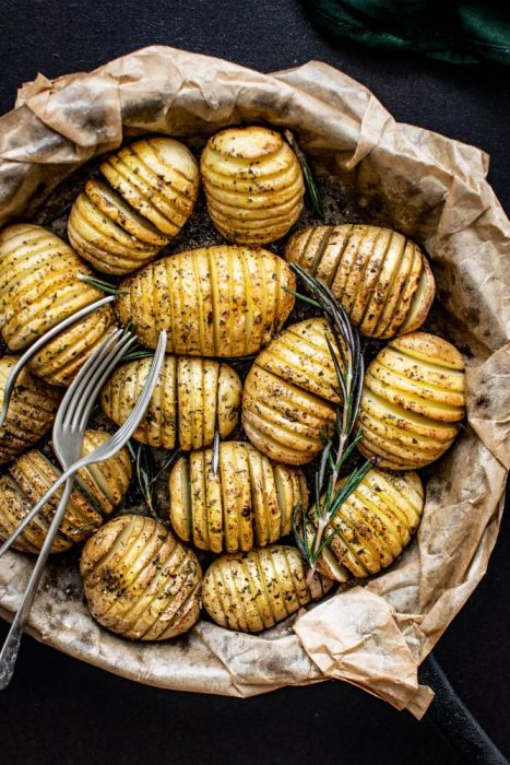 whole baked potatoes freezer